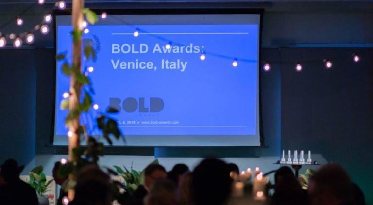 BOLD Awards 2020 Finalises International Judging Panel