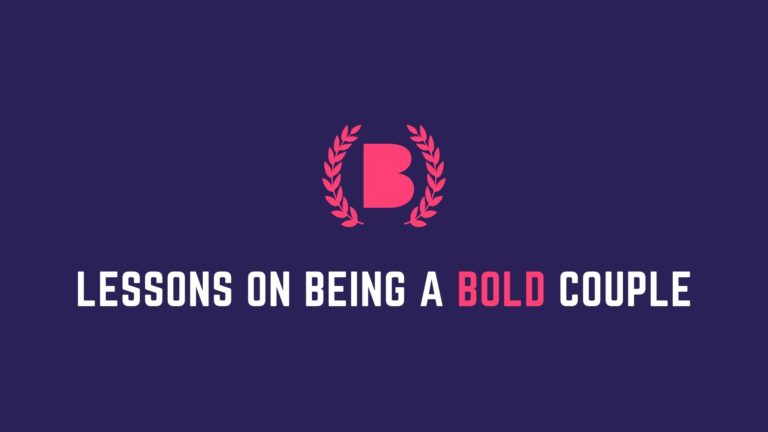 Learn to be bold from people who have shown boldness