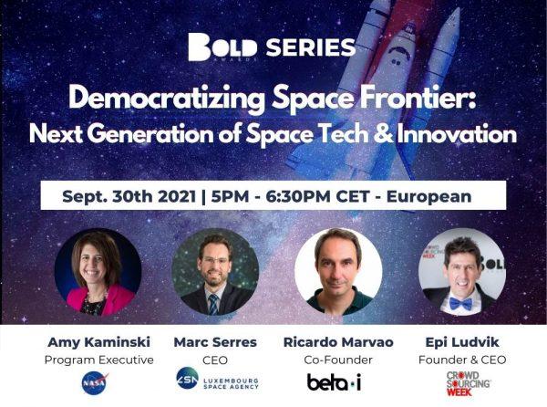 Democratizing Space